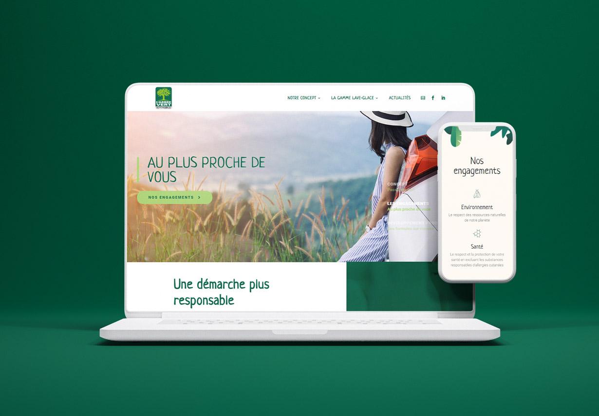 site internet arbrevertauto.fr